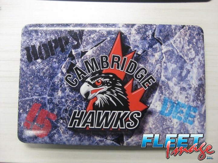 Cambridge Hawks laptop sticker