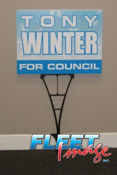 Tony Winter for Council signage