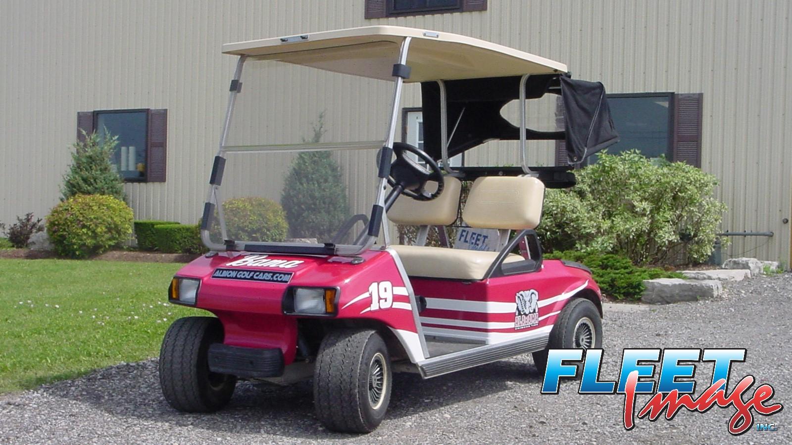 Alabama golfcart