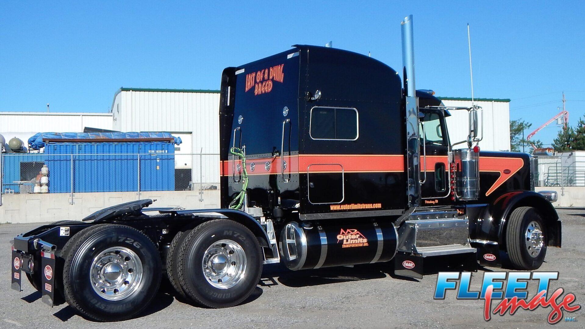 Outer Limited Transportation Inc. black truck