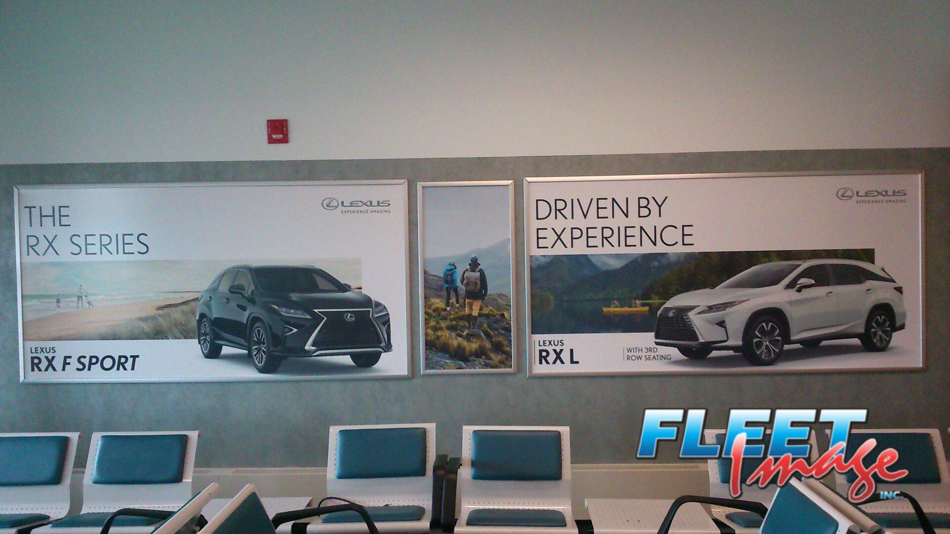 Lexus signages