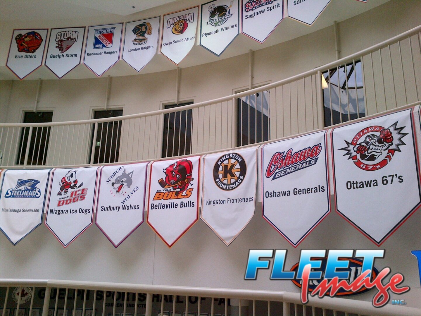 GUELPH SPORTS HALL OF FAME TEAM BANNERS