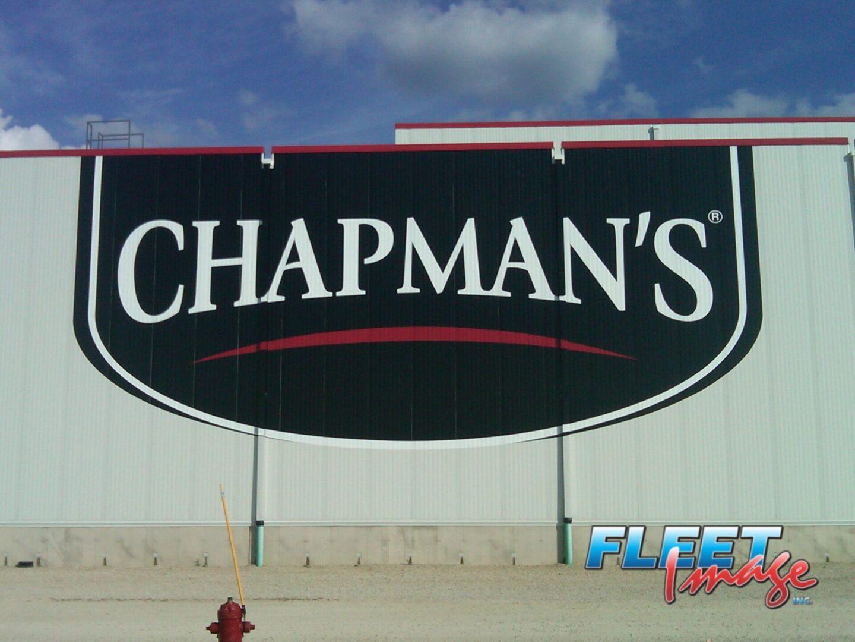 CHAPMAN'S wall decal