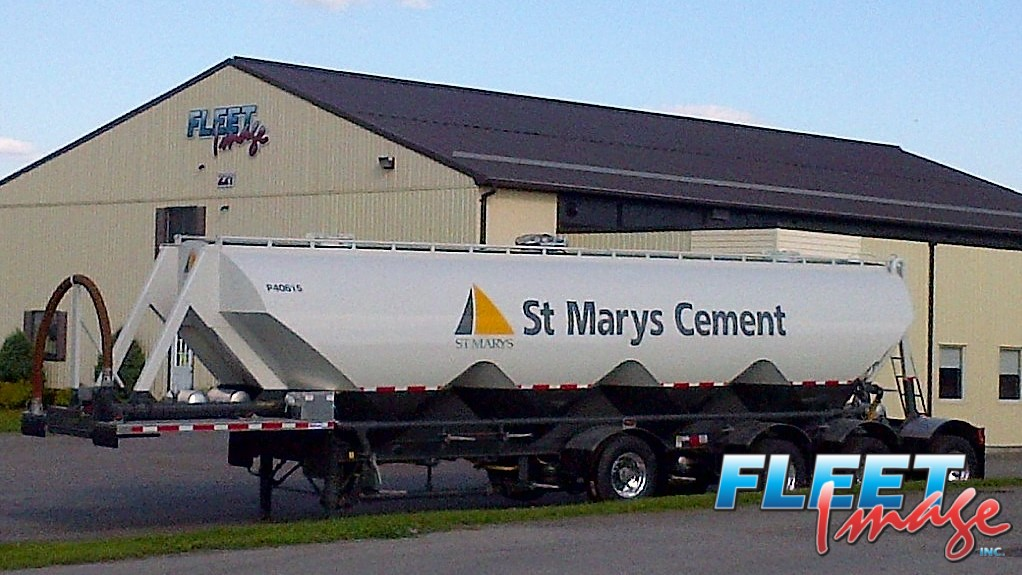 St Mary's Cement decal sticker